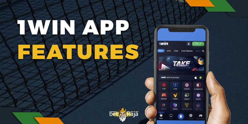1win app features