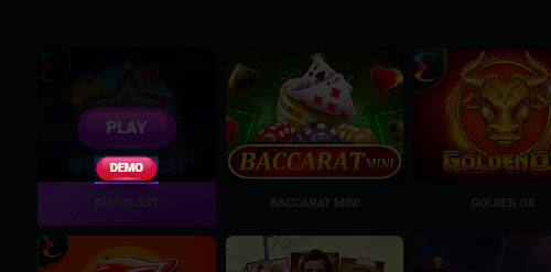 4rabet how to play casino step 4