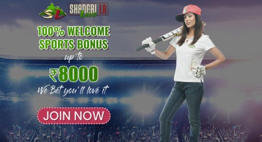 Shangri la welcome bonus.