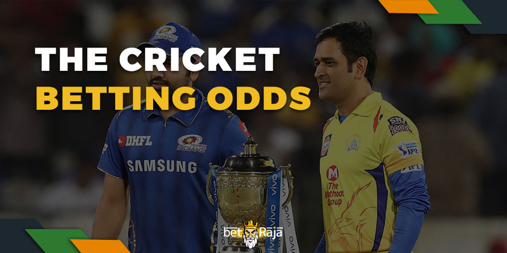 The cricket betting odds