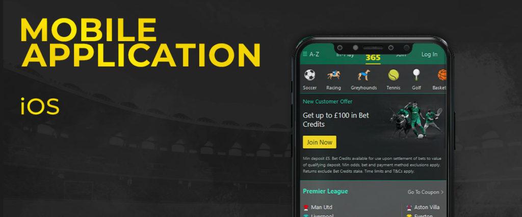 Bet365 App for iOS