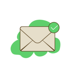 betraja email confirmation icon.