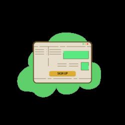 betraja sign-up icon