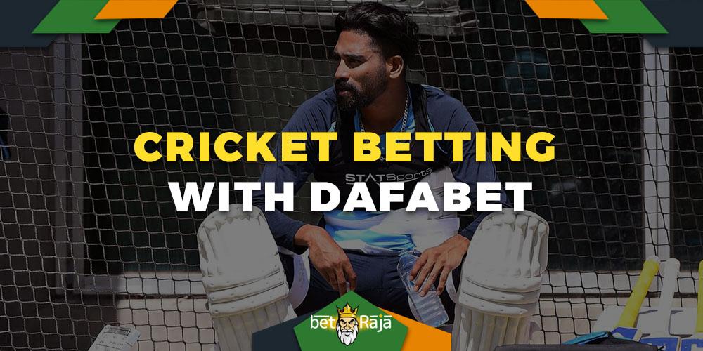Dafabet cricket betting