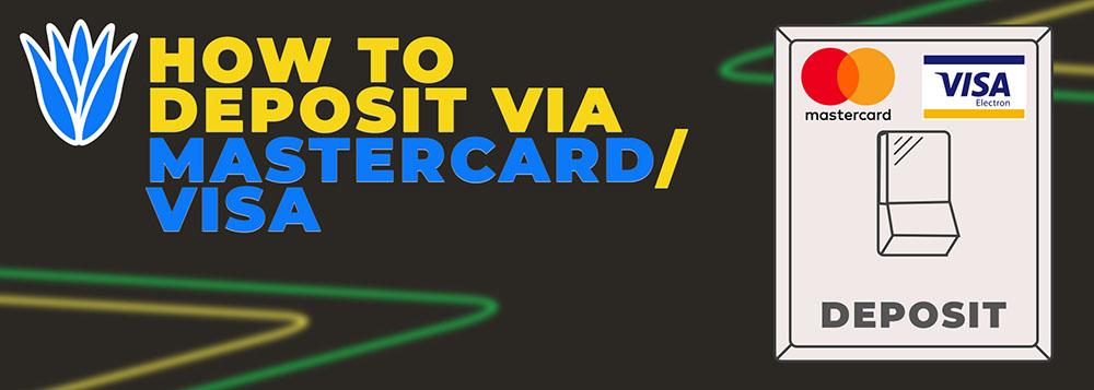 How to deposit via MasterCard/Visa
