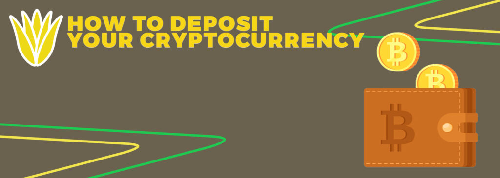 How to deposit your cryptocurrency