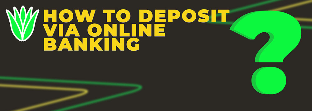 Deposit via online banking