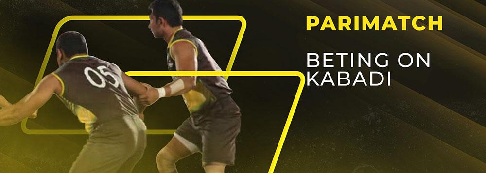 Bet on Kabaddi with Parimatch
