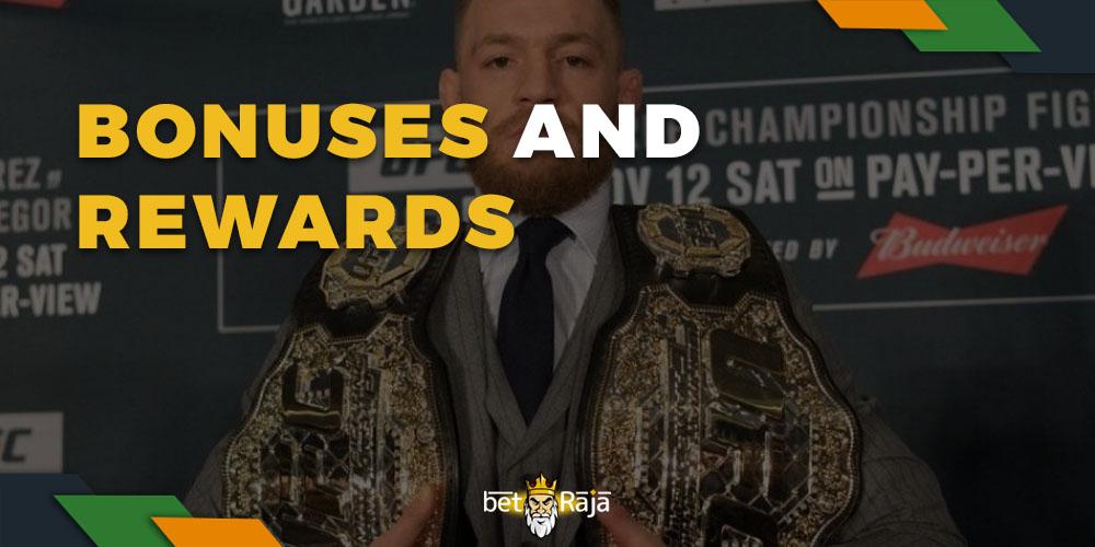 UFC bonuses and rewards