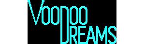 Voodoo dreams logo.
