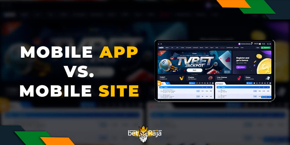 Differences between 1win mobile app and the site