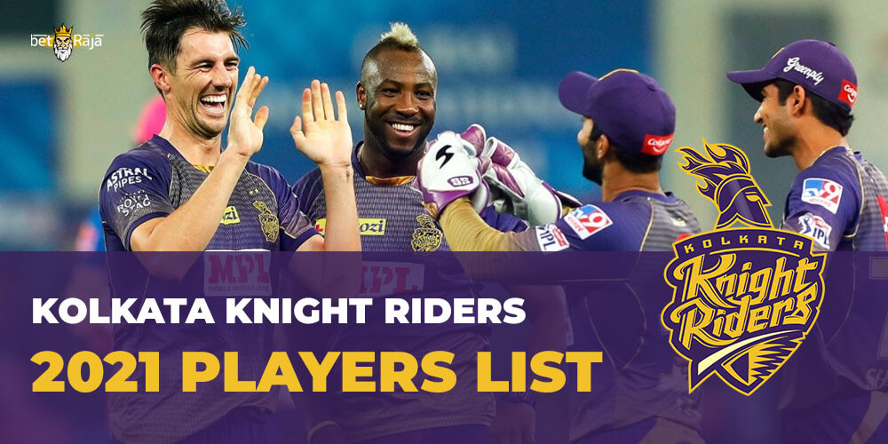 Kolkata Knight Riders 2021 Players List