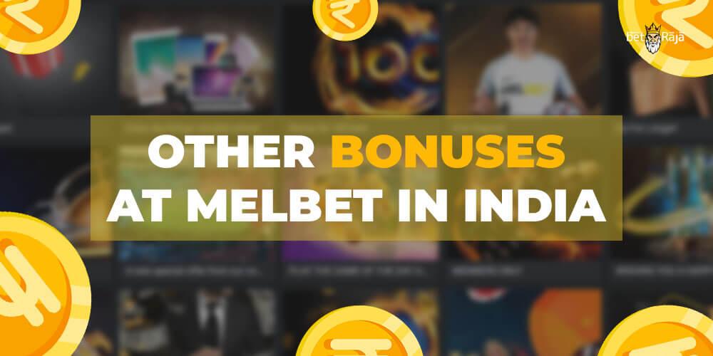 Melbet bonuses