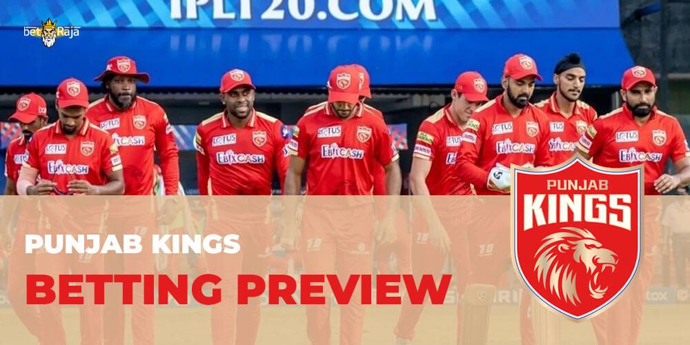 Punjab Kings BETTING PREVIEW