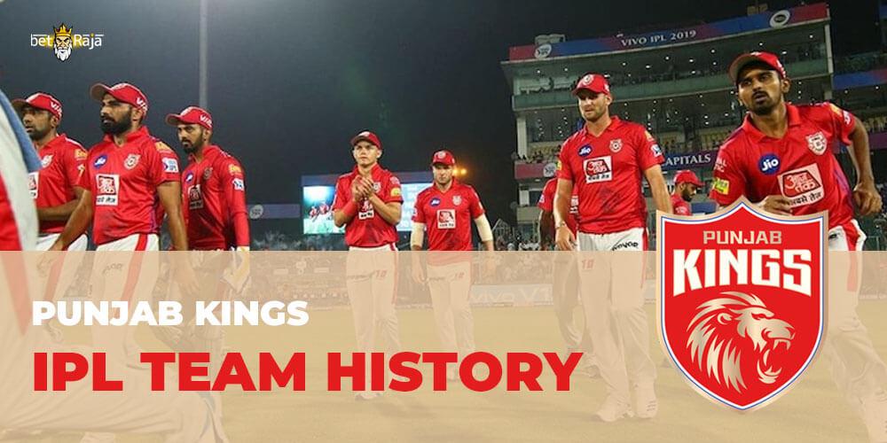 Punjab Kings IPL Team History