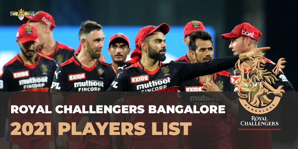 Royal Challengers Bangalore 2021 Players List