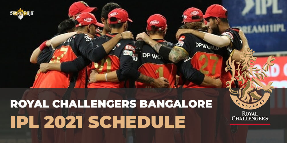 Royal Challengers Bangalore IPL 2021 SCHEDULE