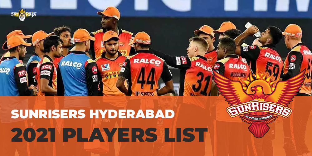 Sunrisers Hyderabad 2021 Players List