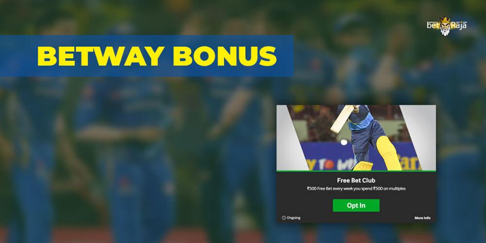 Betway IPL 2021 Bonus