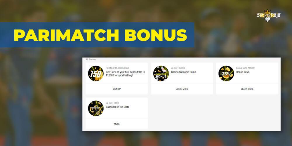 Parimatch IPL 2021 Bonus