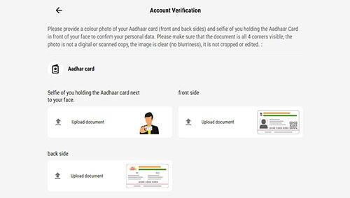 Parimatch acc verification