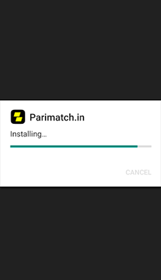 parimatch app installing