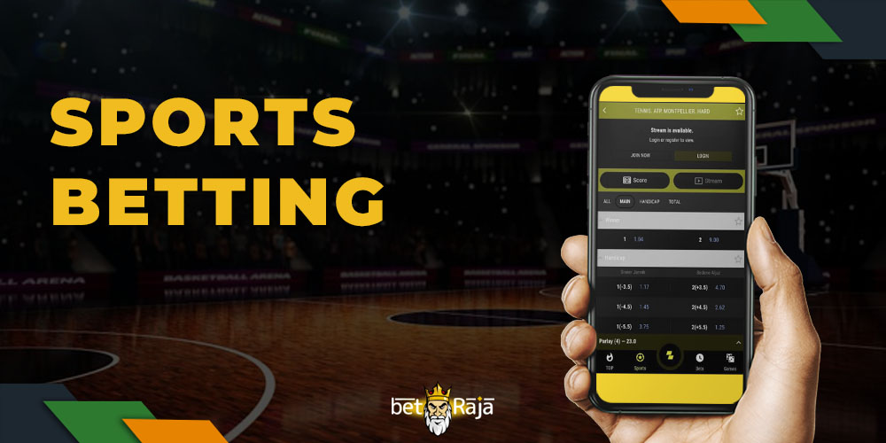 Sports Betting in the Parimatch Mobile App