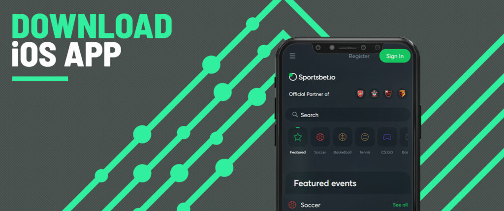 How to download Sportbet.io IOS app