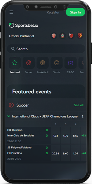 How to download Sportbet.io betting app