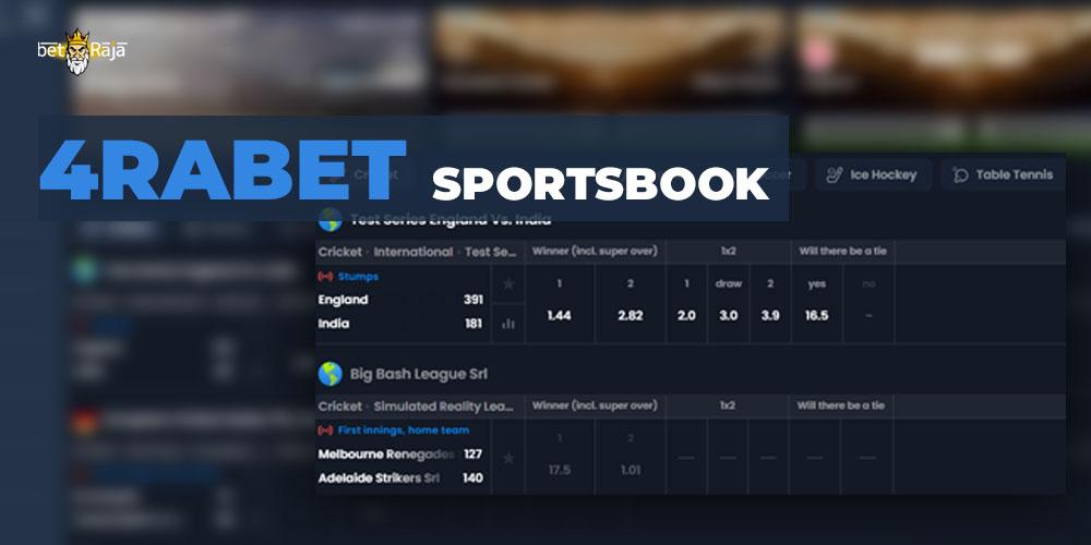 4rabet Sportsbook