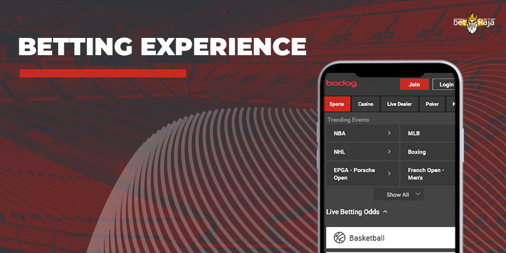 Betting Experience