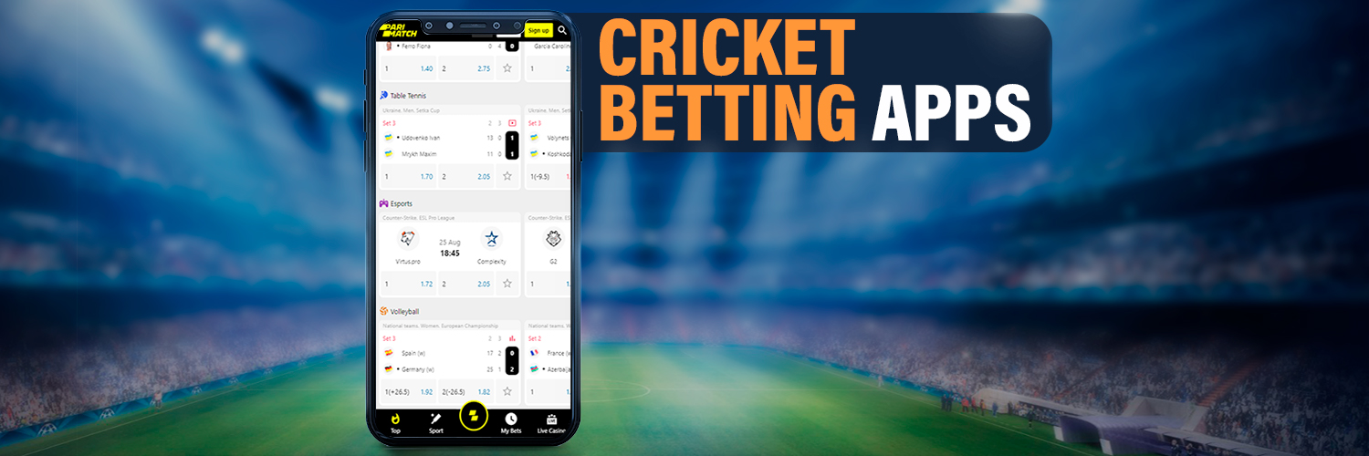 Famous cricket betting apps.