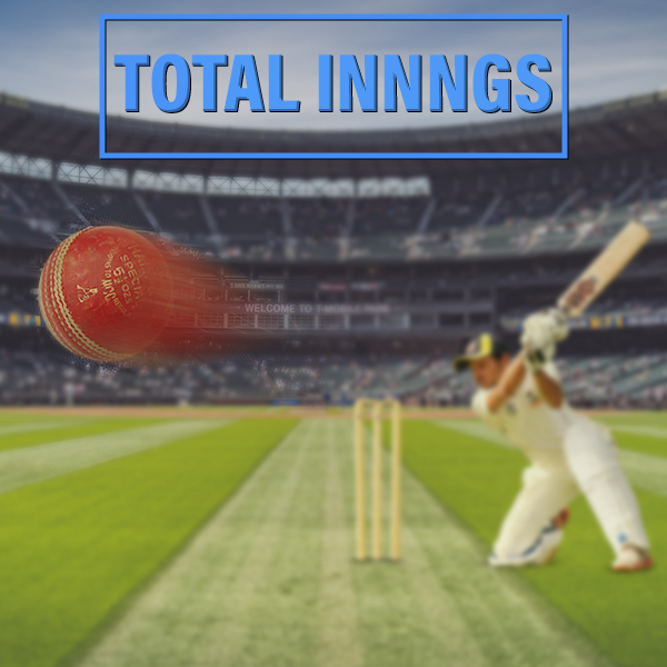 Bet on total amount of innings in Cricket.