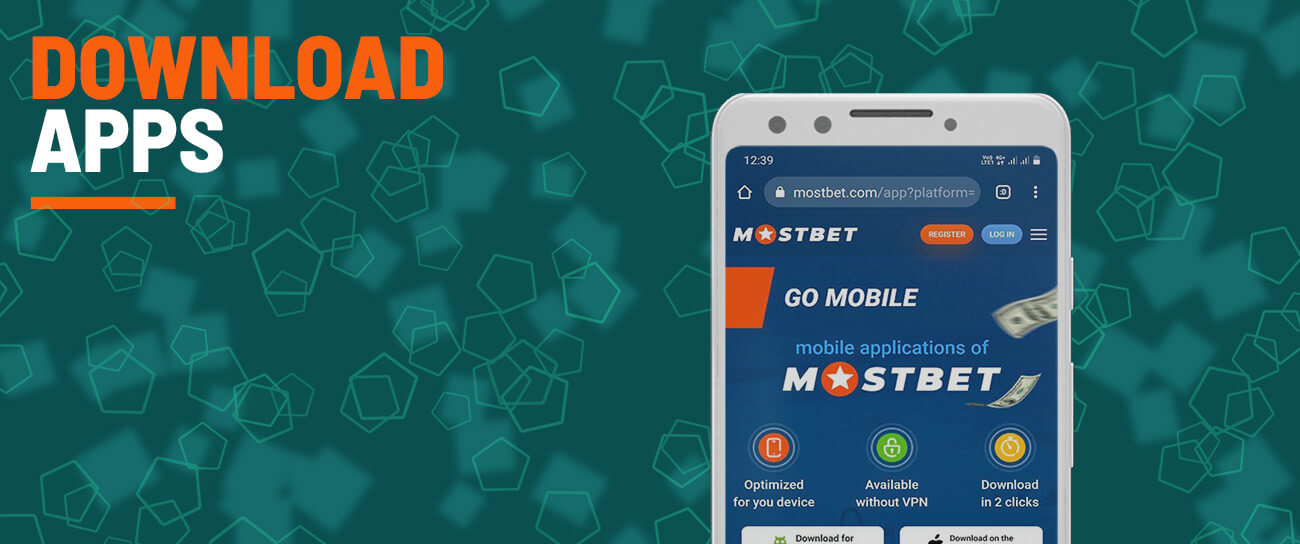 Download the official app from the mostbet site.