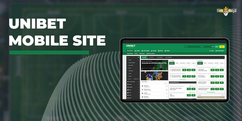 UniBet Mobile Site