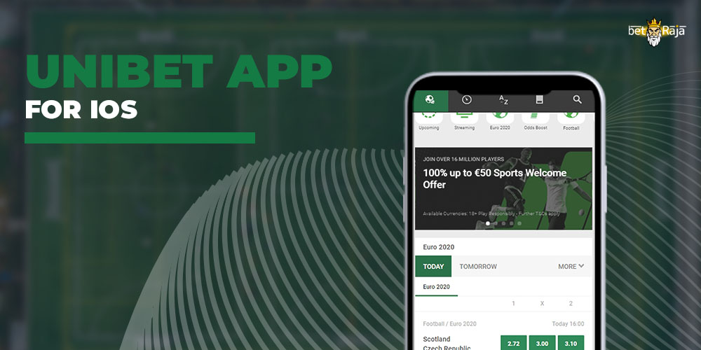 Unibet App for IOS