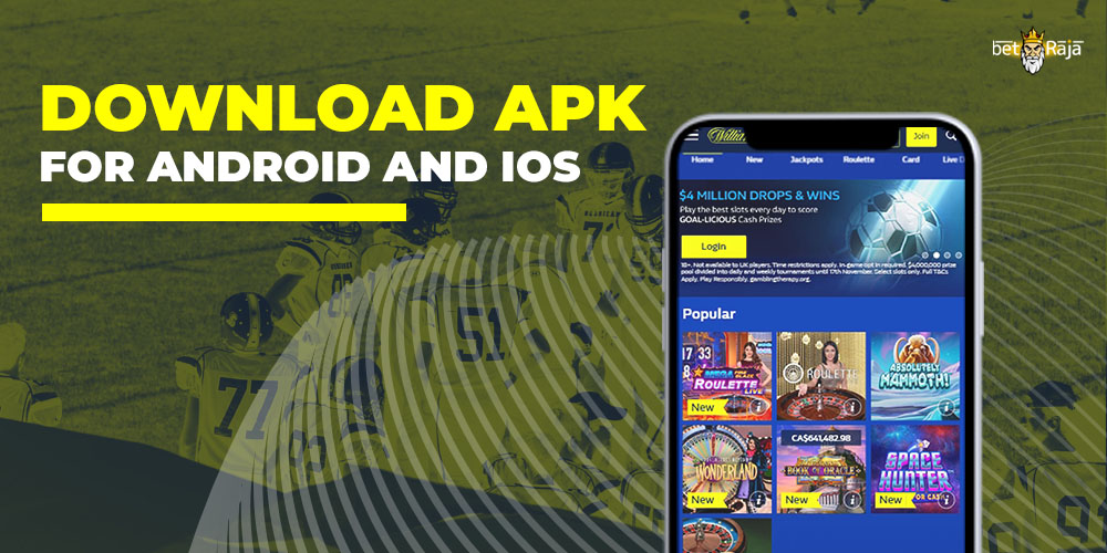 Download apk for Android and iOS