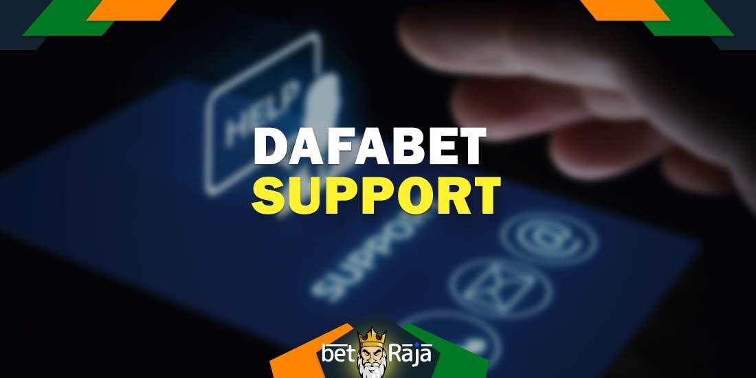 Dafabet support service.