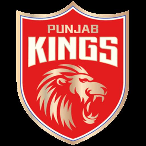 Punjab Kings logo.