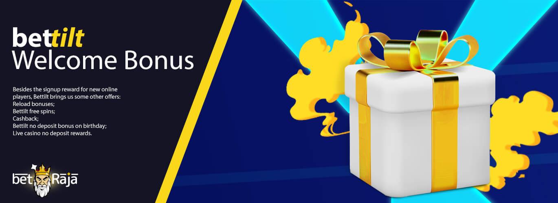 Bonus offers by Bettilt.